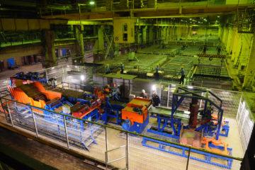 На медном заводе готовят к запуску новую линию автоматической сборки