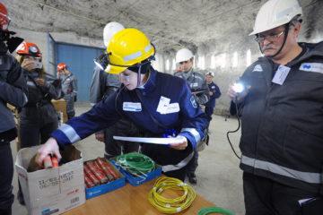В ЗФ «Норникеля» определили самых профессиональных раздатчиков взрывчатых материалов