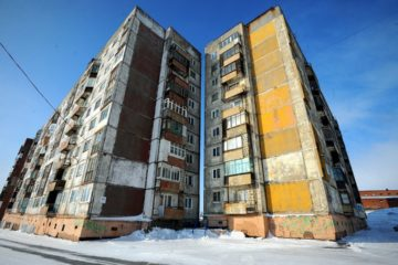 Ремонт фасада дома на Набережной Урванцева предлагают отложить