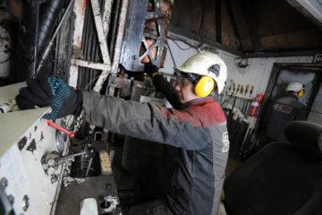 В поле рудника «Таймырский» ведется доразведка запасов богатой руды