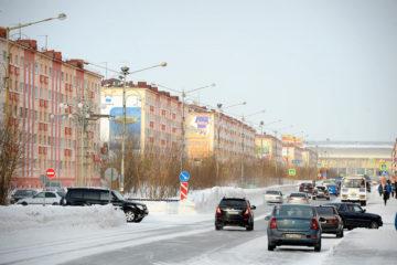 Зима в Норильске скоро начнет уступать место весне