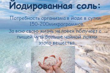 С 2020 года в России будут йодировать всю соль