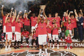 Профессиональный баскетбольный клуб ЦСКА стал чемпионом Евролиги сезона-2018/19