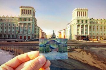 Архитектор «Норильскпроекта» Александр Дмитриев создал виртуальный Норильск