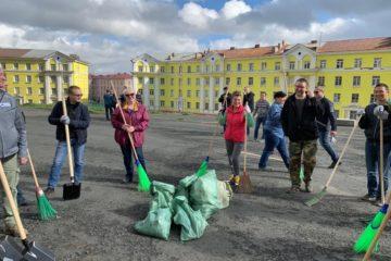 В Норильске прошла большая уборка