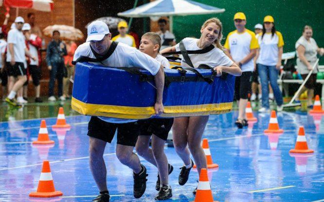 Сегодня в Сочи пройдут XVII ежегодные соревнования «Норникеля» «Мама, папа, я – спортивная семья»