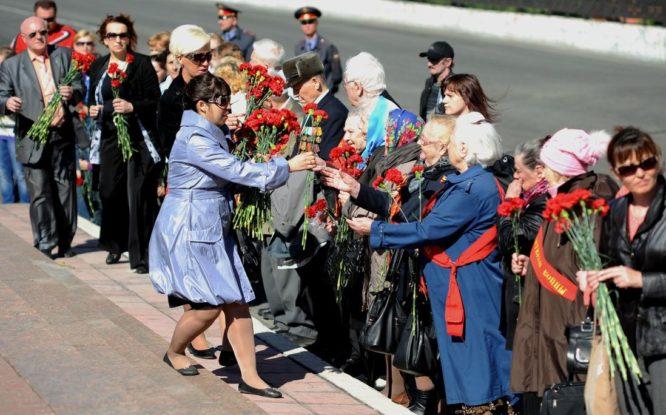 Норильчане будут читать стихи военных лет и возлагать цветы