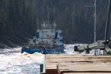 Енисейское речное пароходство завершило северный завоз в Эвенкию