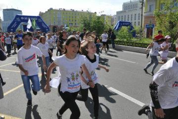 Около 4,3 тысяч человек уже зарегистрировались на участие в благотворительном забеге «Норильск, беги со мной!»