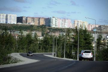 В Норильске заканчивают ремонт участка талнахской трассы