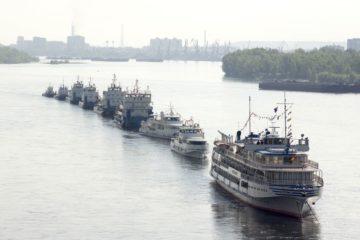 Конкурс экипажей стартовал в Енисейском речном пароходстве