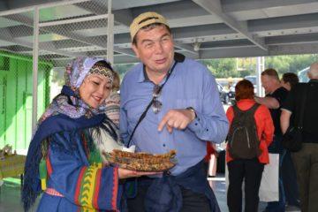 Первый туристический рейс пришвартовался в Дудинке