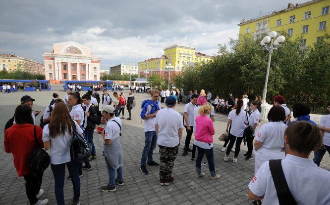 Трудовые отряды школьников закрыли сезон