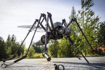 В Талнахе появится скульптура огромного комара-бурильщика