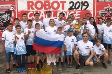 Команда «РобоНикель» привезла золото из Пекина