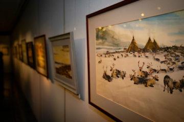 В Норильске покажут работы Мотюмяку Турдагина