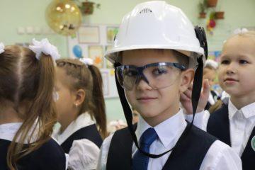 Первоклассникам рассказали о профессиях «Норникеля».