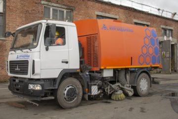 Заполярный транспортный филиал приобрел спецтехнику для уборки производственных площадей
