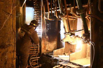 В Норильске после ремонта поставили на разогрев печь Ванюкова