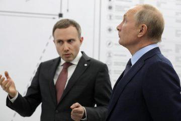 Владимир Путин ознакомился с экзоскелетами «Норникеля»