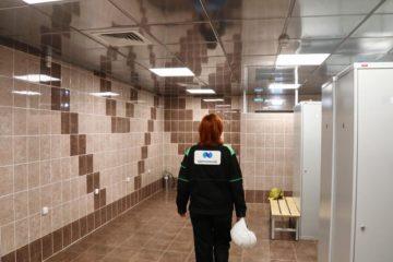 В «Норильскэнергоремонте» отремонтировали раздевалки