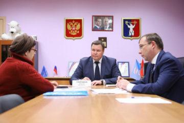 Норильчане могут обратиться за консультацией к председателю Заксобрания Дмитрию Свиридову