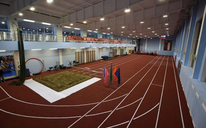 В Норильске после ремонта открылся манеж Дворца спорта «Арктика»