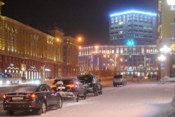 Городское освещение готово к наступлению полярной ночи