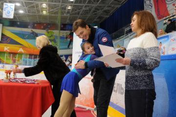 Олимпийский чемпион Дмитрий Соловьев в Норильске