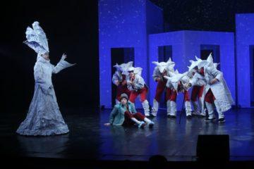 В Норильской драме состоялась премьера «Снежной королевы»