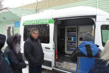 Новая передвижная экологическая лаборатория начала работу в СФО