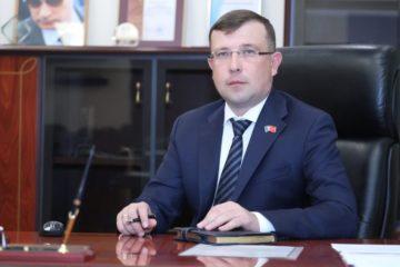 Поздравление председателя Норильского городского совета депутатов Александра Пестрякова с наступающим Новым годом