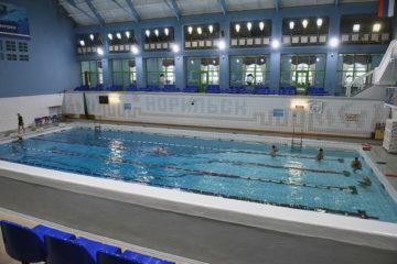 В норильском бассейне соревнуются лучшие пловцы