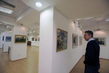 В художественной галерее открылась юбилейная выставка живописи и графики народного художника России Николая Лоя