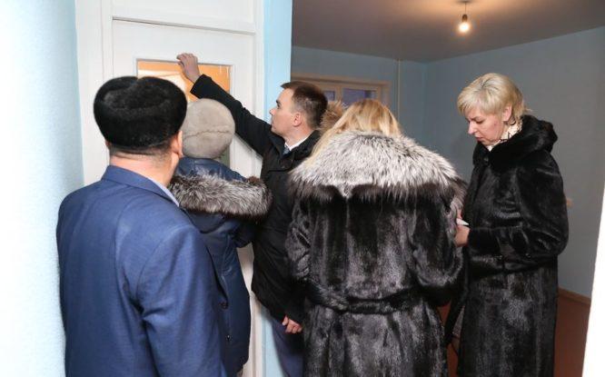 В Норильске продолжается приемка отремонтированных квартир для детей-сирот