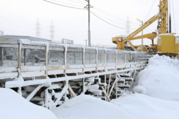 В Норильске началась реконструкция моста на Октябрьской улице