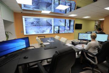 В «Медвежьем ручье» запустили в работу диспетчерскую с видеостеной