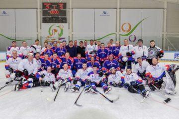 76 тысяч рублей собрали на благотворительном матче по хоккею в Дудинке