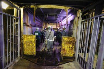На руднике «Таймырский» прокладывают рельсы вверх