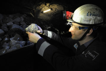 Рудник «Комсомольский» вышел в лидеры по добыче руды