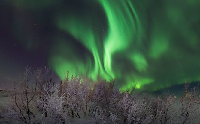 Следующие пять лет жители Таймыра будут реже наблюдать северное сияние