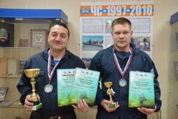 Таймырские спасатели стали победителями в турнире по дайвингу