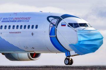 540 масок раздают пассажирам каждого рейса Норильск – Москва авиакомпании NordStar