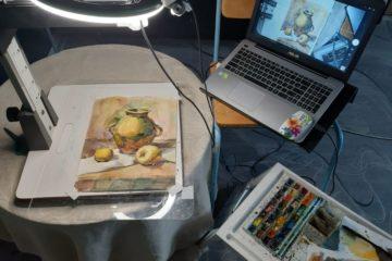 Норильская детская художественная школа продолжает работу в дистанционном формате