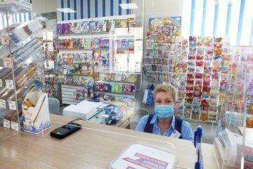 В 11 норильских почтовых отделениях поставили защитные экраны