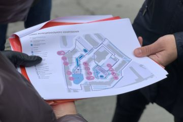 Проект обновления двора на Талнахской, 10, в Норильске скоро представят жителям
