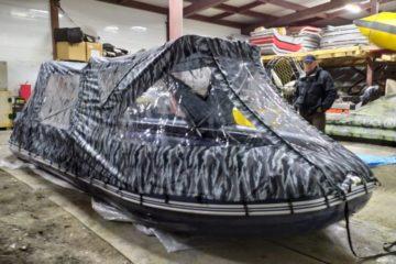 «Заповедники Таймыра» получили экспедиционную лодку Solar 600