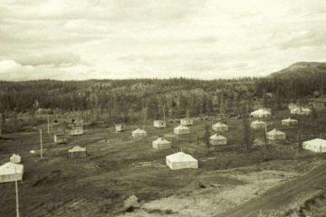 Рудная столица России начиналась с палаток