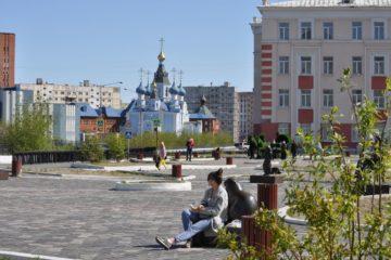 В Норильск вернулась теплая погода