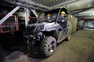 На Талнахской обогатительной фабрике появился многофункциональный мотовездеход